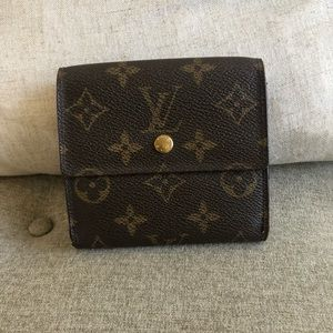 Authentic Louis Vuitton small wallet